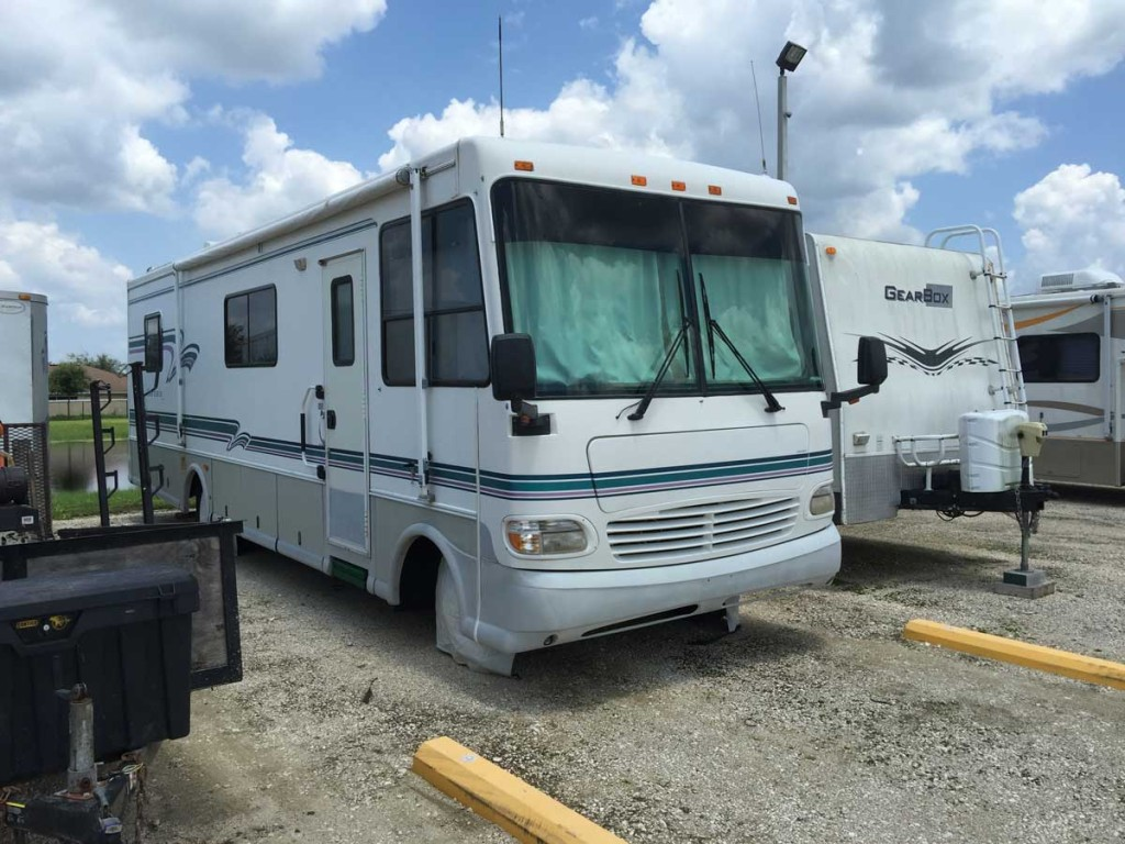 My 1996 coachman. While my current rig is much nicer than this one, part of me misses it.