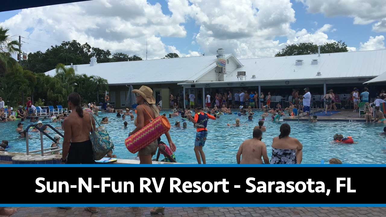 Inside The Sun N Fun Rv Resort Campground Review From