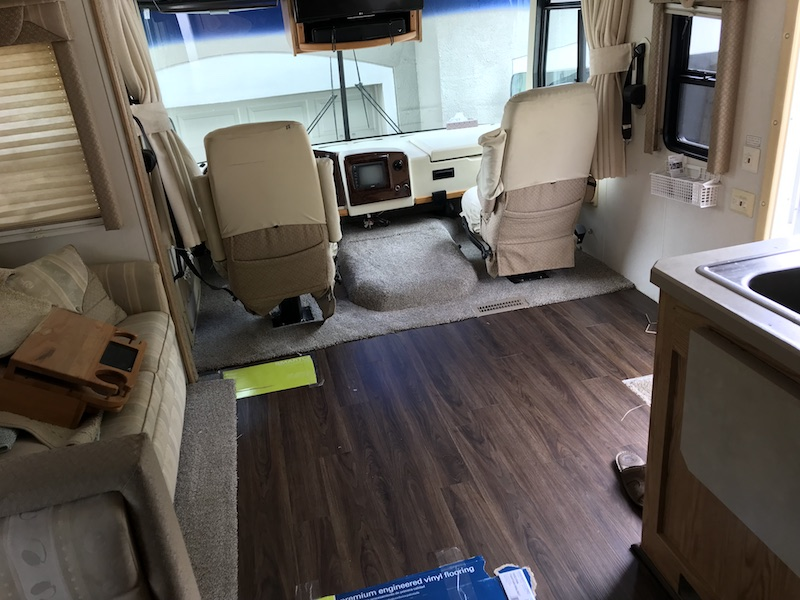 Reflooring The Rv The Summary The Costs And Was It Worth The